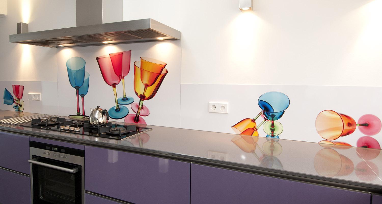 Keuken Achterwand Ideeen : Foto spatwand: een originele achterwand in de keuken