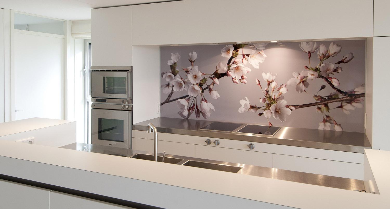 Achterwand Voor Keuken : Foto spatwand een originele achterwand in de keuken