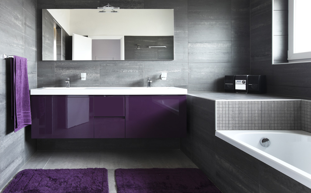 wandbekleding badkamer: alle materialen op een rijtje, Badkamer