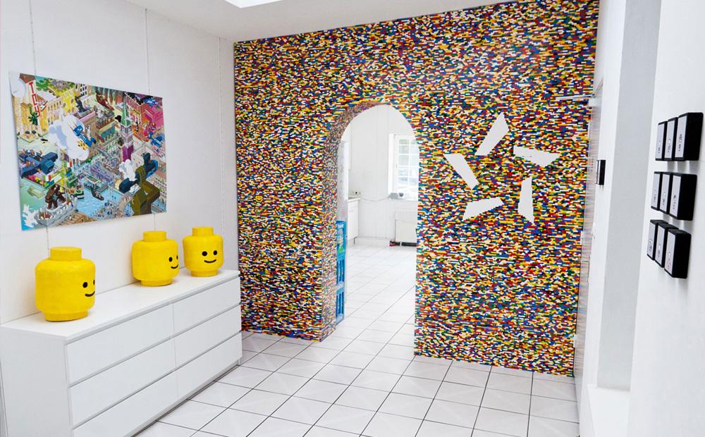 creatief met lego: meubels en decoratie van lego blokjes, Deco ideeën