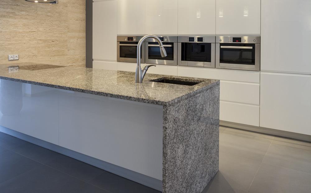 Ongebruikt Graniet werkblad in de keuken: Soorten & Voorbeelden NK-57