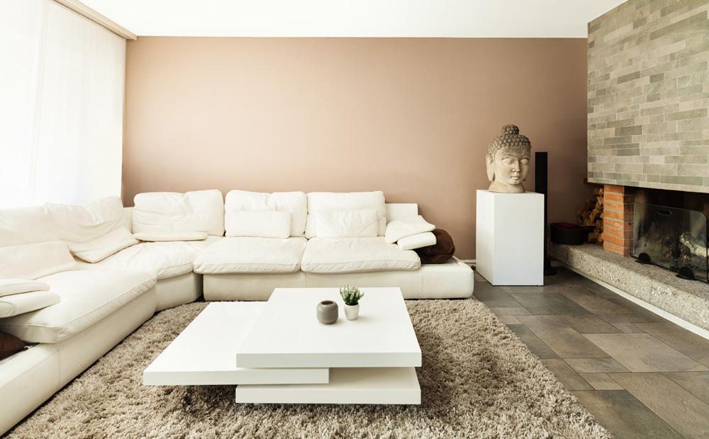 Woonkamer kleuren kiezen tips en voorbeelden for Mooie huiskamer inrichting