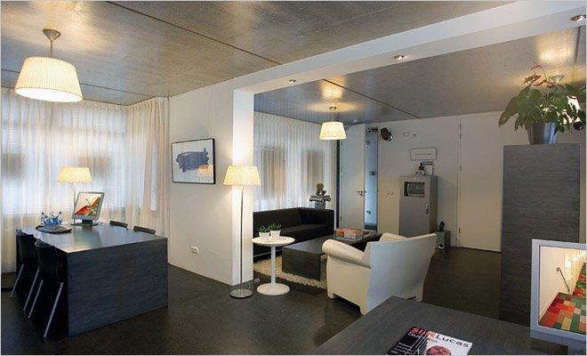 woning met atelier en werkruimte inrichting door coen van ham. Black Bedroom Furniture Sets. Home Design Ideas