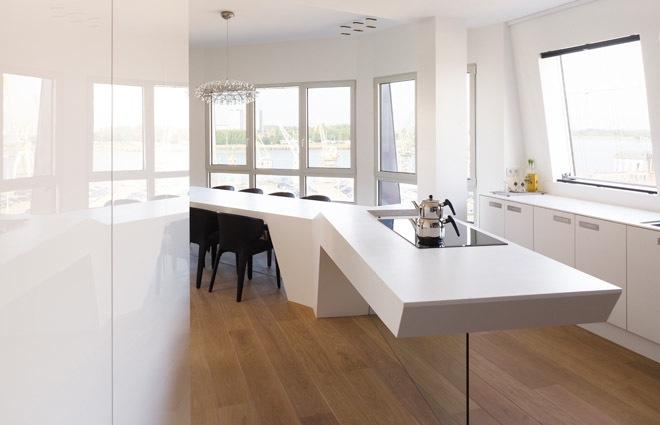 design penthouse inrichting in antwerpen elft interieur