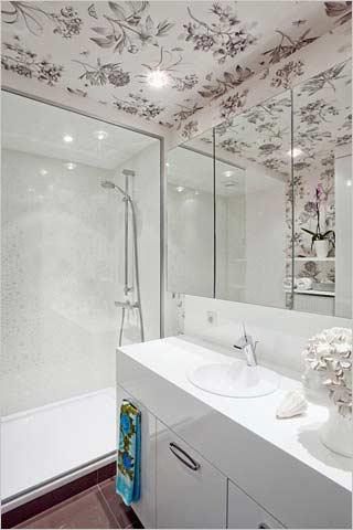 modern appartement met hip behang  interieurdesigner, Meubels Ideeën