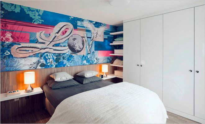 Uniek woonkamer meubels met behang slaapkamer ideeen inspiratie woonkamer en slaapkamer 2017 - Slaapkamer met behang ...
