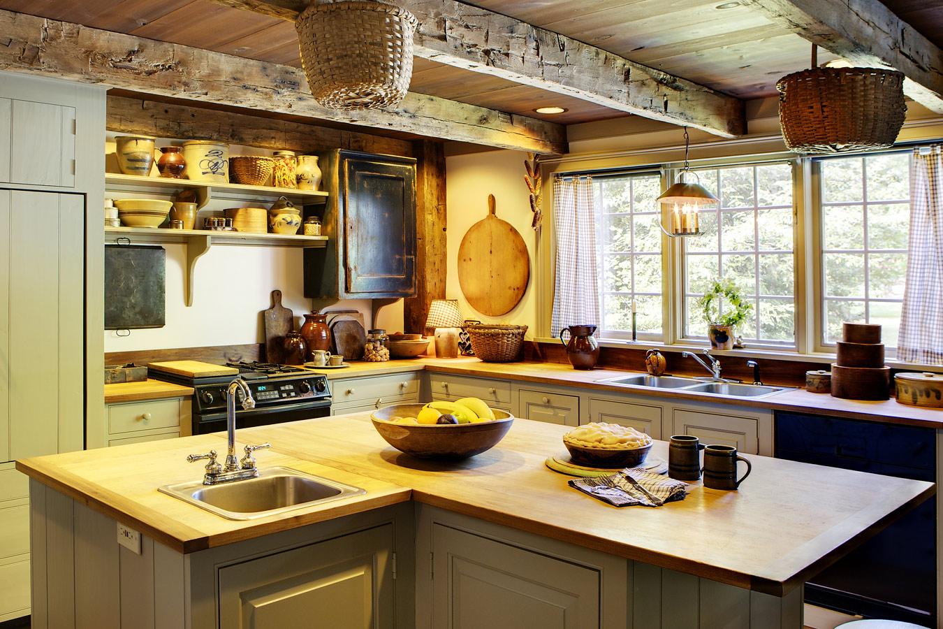 Houten werkblad in de keuken tips soorten hout - Keuken licht eiken ...