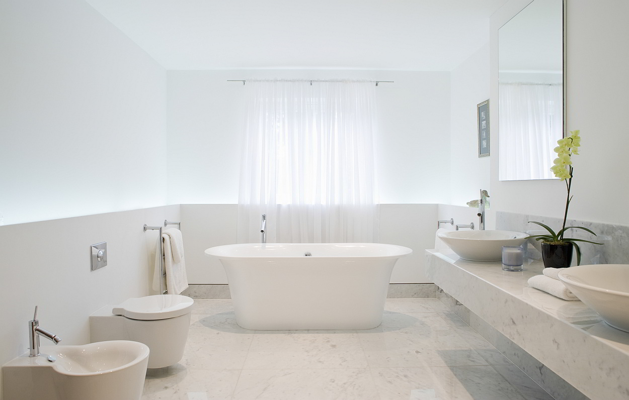 Inrichting Badkamer Vloer : Lichte vloer badkamer u devolonter