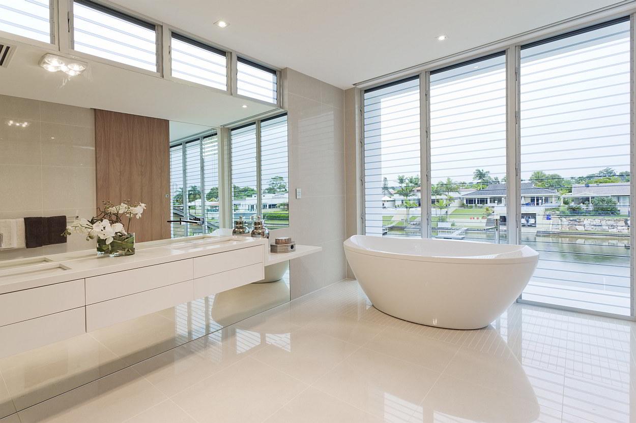 neutrale kleuren in je interieur | tips en voordelen, Badkamer