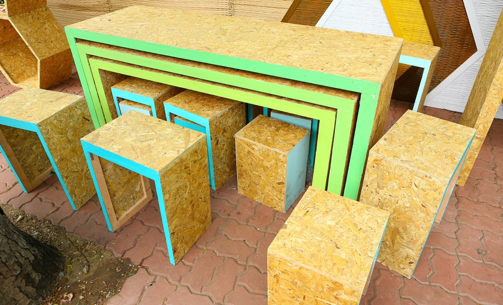 meubels van osb platen